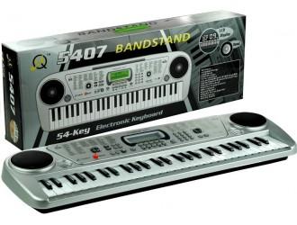 1272 Jucarie Pian Electronic cu 54 clape