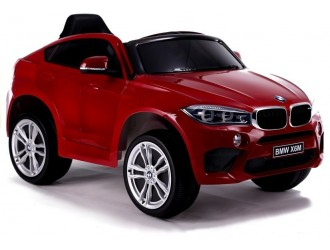 3286 Masina Electrica BMW X6 culoare rosie cu 2 motoare