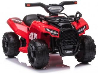 7908 Motocicleta electrica cu 4 roti JS320 culoare rosie