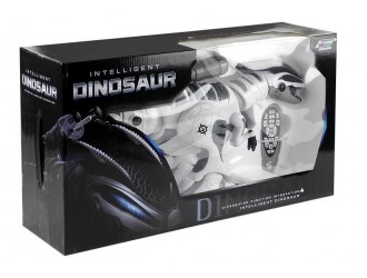 4551 Dinozaur interactiv futuristic cu RC si lansator