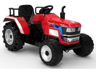 5187 Трактор с аккумулятором HL2788 Красный