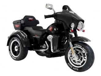 7277 Motocicleta cu 3 roti Motorbike SX138 Neagra