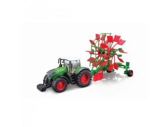 18-31665 Модель трактора Fendt 1050 Vario с граблями Bburago