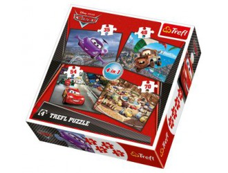 "00565 Trefl ""Game"" - Speed up! (multilanguage version) / Disney"