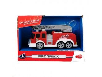 3302002  Dickie auto pompieri cu lumina mic