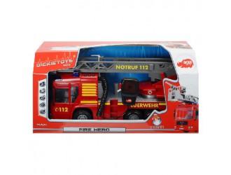 3716003 Dickie auto POMPIERI FIRE HERO 43CM