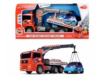 """3806000 Dickie auto """"Air Pump Crane Trac"""" 31 cm"""