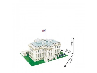 3C060H 3D PUZZLE Casa Alba The White House