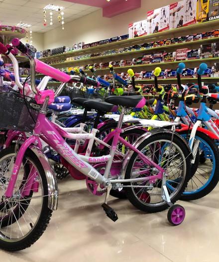 Reduceri de -20% în magazinele Toyland la toate bicicletele