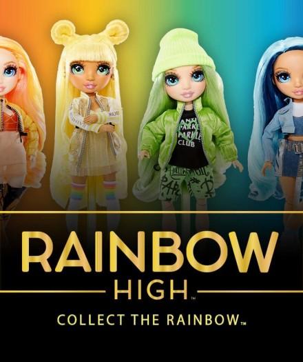 Păpușile Rainbow High vor fi disponibile în curând în toate magazinele TOYLAND